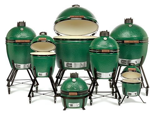 The famous Big Green Egg Family
