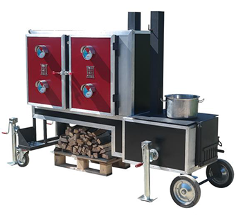 ProQ Gravity Feed Cabinet Smoker