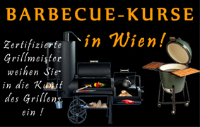 Barbecue- & Grillkurse in Wien !